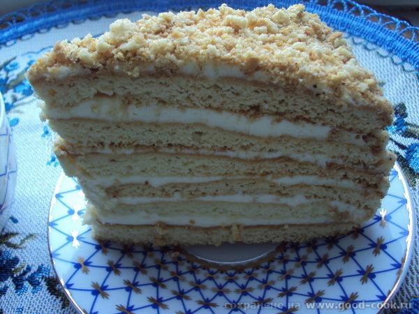 Лида, спасибо за очень вкусный торт МЕДОВИК 1 Торт очень вкусный - 2