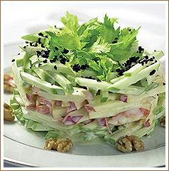 Зеленый салат (Green) - салат айсберг, помидоры, редис, огурцы и другие овощи по сезону с заправкой... - 3