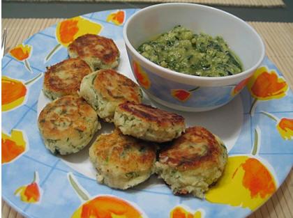 вегетарианская тема Польпетте с соусом писту oт olja