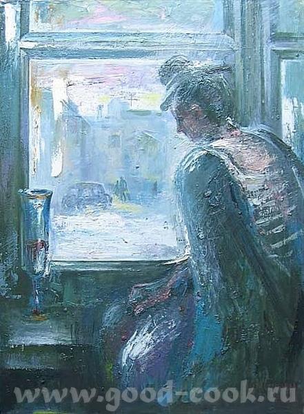 Посмотри нашла художницу практически рисует всегда окно и на его фоне кто-то или что-то -- Настя Сл... - 4