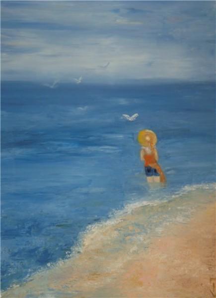 какая милашка ваша клёпа ))) чмок-её в нос)) Шикарные лилии купила себе шляпку и захотелось на море...