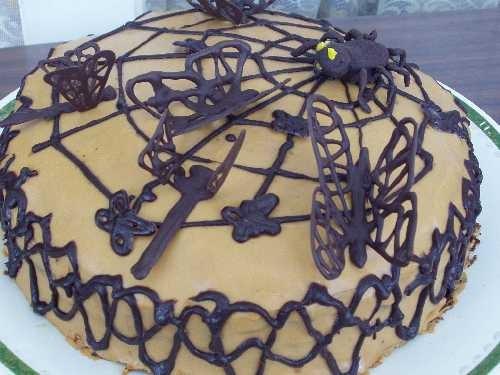Вот такой очередной вариант шоколадного торта
