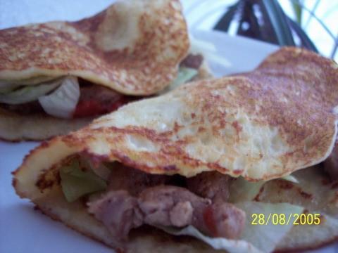 картофельные блинчики с мясной начинкой -это наш сегодняшний ужин, начинка у меня с мяса индюшка и...
