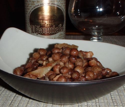 Серый горох с копченостями старое блюдо из латышской кухни серый горох копченая грудинка лук серый...
