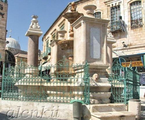 Площади с фонтаном - 2