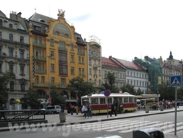 Новый город - Вацлавская плошадь Шишки