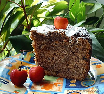 Яночка, спасибо за рецепт твидового кекса
