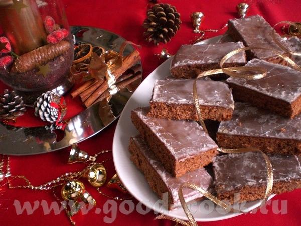 Lebkuchen Пряничный пирог Для противня с бортиками 33х37см Ароматный и вкусный, настоящий Рождестве...