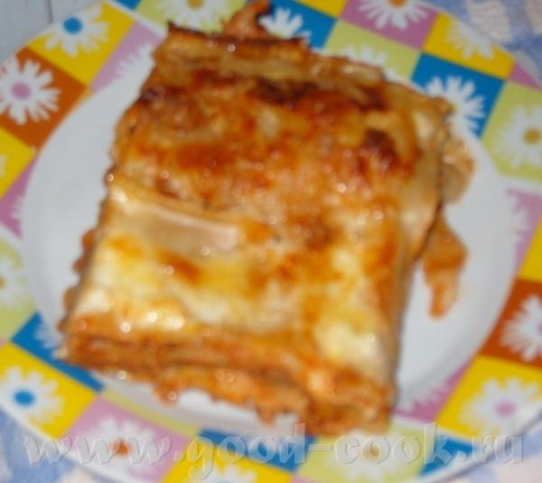 Спасибо огромное за рецепт лазанье в духовке - 2