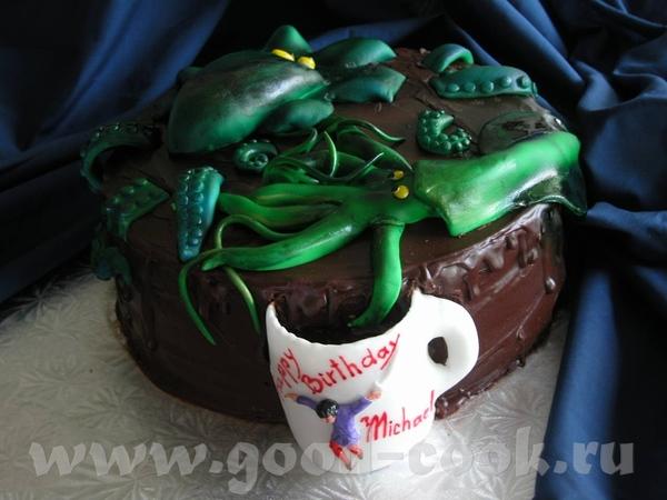 Спасибо, девочки Ето торт на ДР 8-летнего мальчика - 2