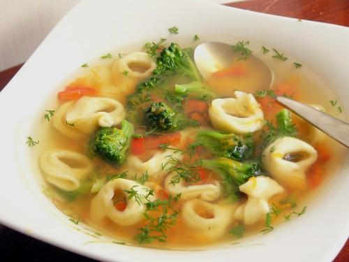Или суп простой можно сварить Суп с тортеллини