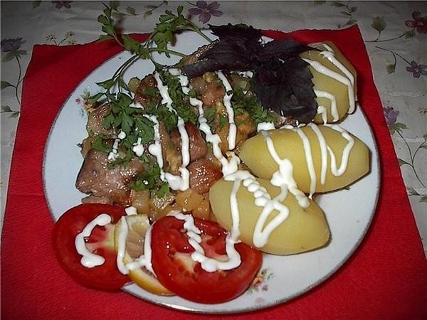 Курица по-гавайски Время приготовления - 20 минут На две порции: Куриное филе - 500 гр Консервирова...