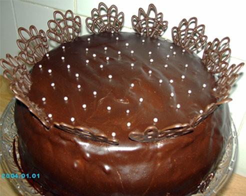Надюш, вот мой торт
