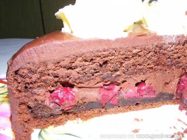 шоколадный бостонский крем-пай