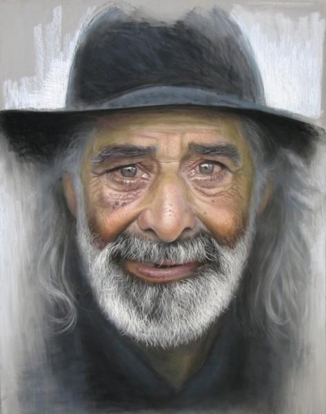 Этот художник рисует удивительные портреты Ruben Belloso Adorna ссылка