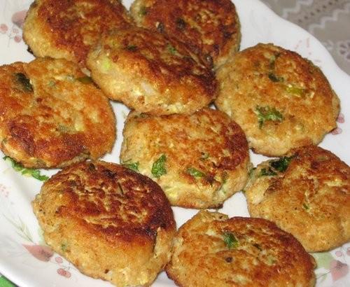 Котлеты из кабачков и мяты Израильская кухня