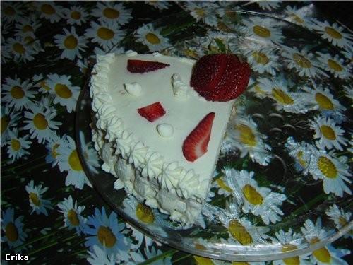 Клубничный тортик: - 2