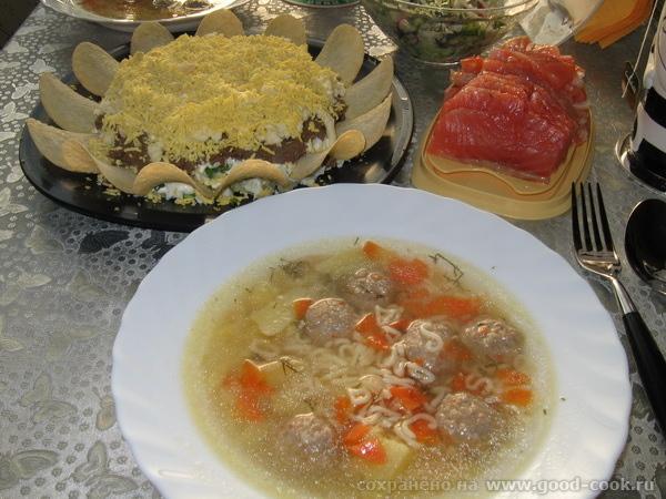 обед от Мимозы