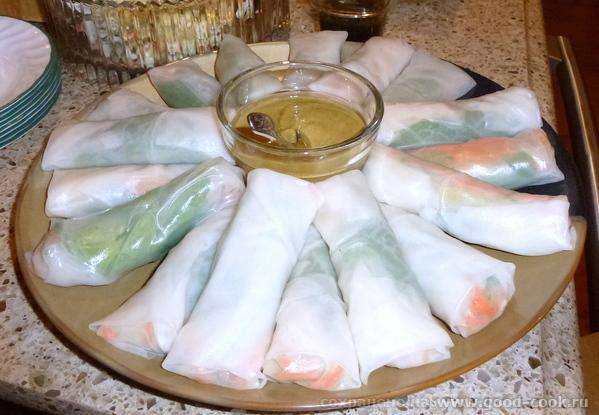 Vietnamese Summer Rolls.