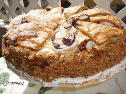 Сегодня мы идем в гости,я вчера сделала Царский торт и салат шапка Мономаха (идея с главной страниц... - 3