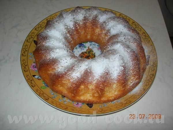 Люда, большое спасибо за рецепт Творожного кекса