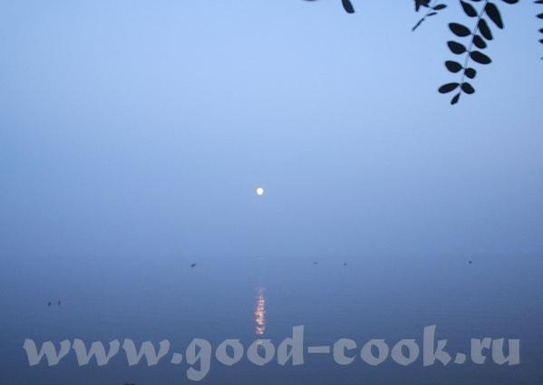 И у нас облака: урбанистический пейзаж А это - когда стирается грань между небом и морем - 3