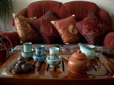 Какаву с чаем