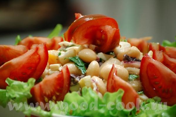 Люся, не могу не занести сюда спасибку за Пиаз-фасолевый салат с луком, яйцами и маслинами