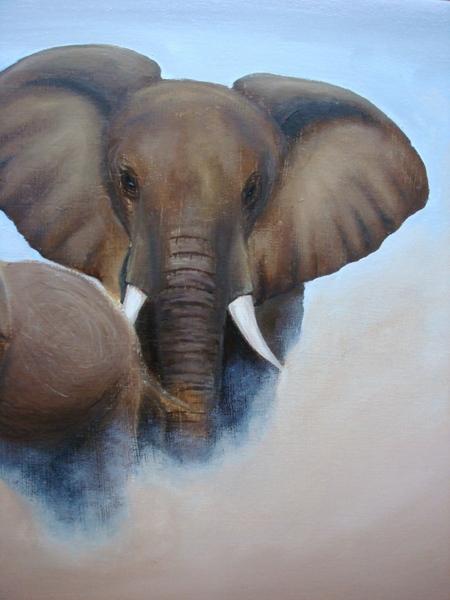 Итак, финал моего слоноизображения - 2