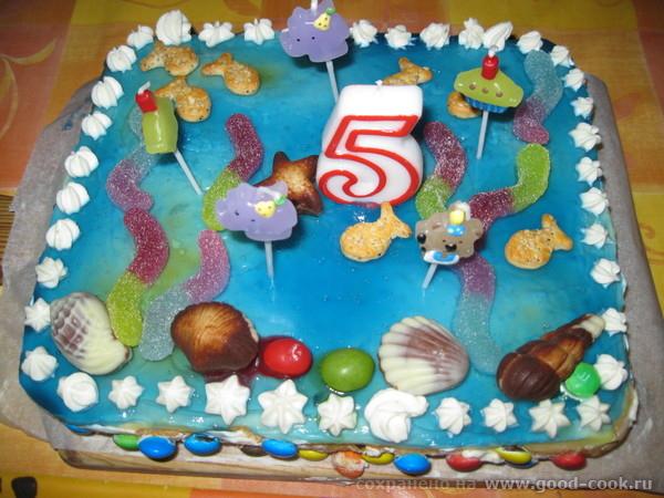 Девочки, покажу тортики, которые сыну на День рождения делала