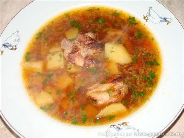 РЕЦЕПТ: суп-картошка с рёбрышками
