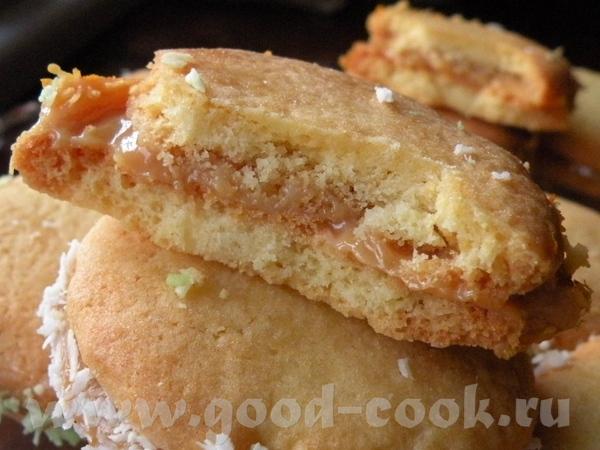 АЛЬФАХОРЫ Это печенье уругвайчики подают к вечернему чайку - 4