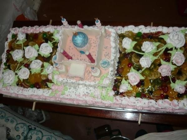 свадебный торт мечеть - 2