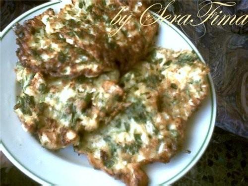 Баклажаны в кляре от Алены (жареные баклажаны прослаиваются сыром или мяском и обжариваюЦЦа в кляре - 3
