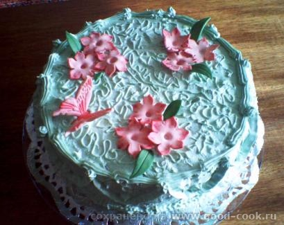 Спасибо за коментарии к моему мешку очень красивая шкатулке, прекрасные разводы на крышке, торт с розами очень элегантны...