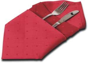 Звезда веером Корзиночка для хлеба Куверт для приборов Калла Колонна - 3