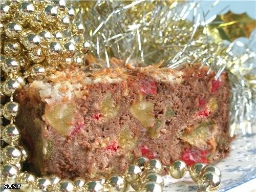 Влажный и очень ароматный десерт,который скорее напоминает торт