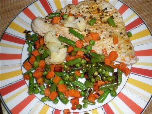 Ужин для мужа:-) Отбивная из индейки Ужин для меня:-) Ленивые голубцы под соусом Прокручиваем филе...