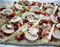 ПИЦЦА Пицца-Тарт из цуккини,яиц и томатов Пицца из морепродуктов Пицца с грибами без сырa Пицца за 30 минут//с козьим сыром и Проволонь с... - 2