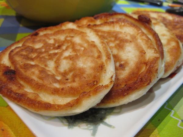 оладьи в стиле хачапури