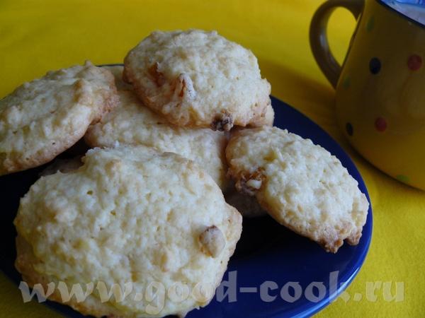 Печенье с курагой и кокосовым орехом