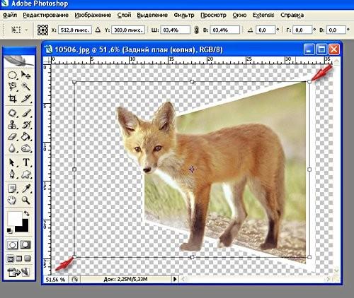 Зажимаем Alt и Shift и подтягиваем как на рисунке Если объект немного не попадает в картинку, его т... - 2