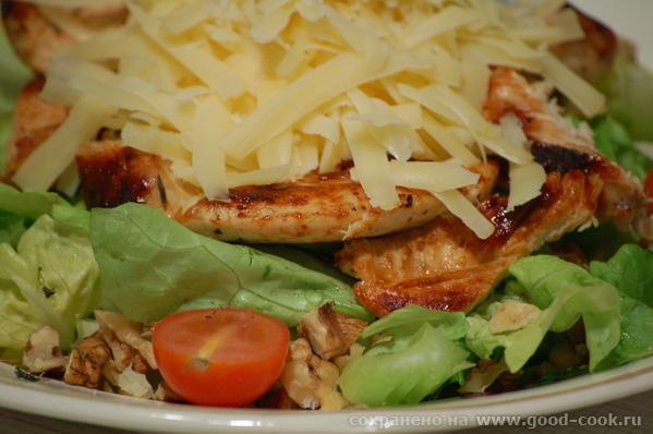 На днях рассказывала вам, что ела салат в итальянской ресторации - 4