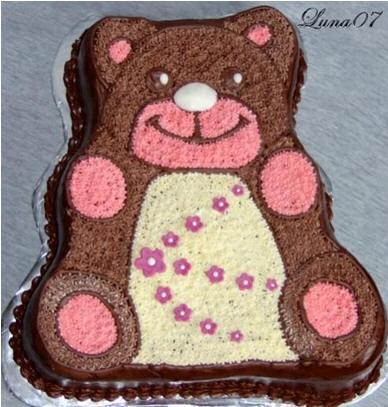 "Тортик ""Мишка"" от Luna07"
