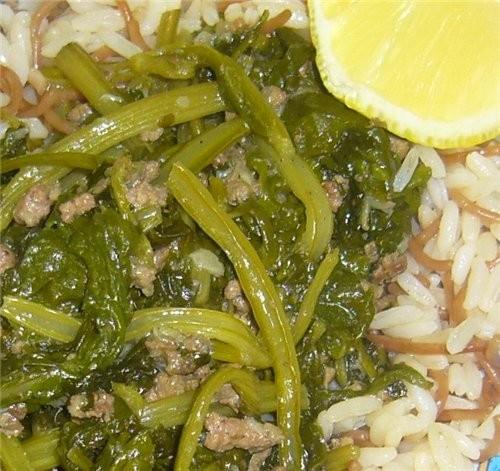 А я готовила сегодня шпинат с мясом и рисом, пыталась поставить фото в рецепт-не вышло, тогда сдела...