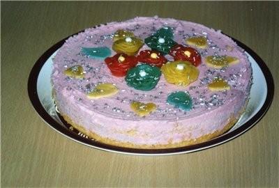 Торт Розовый - 150 г Маргарина - 100 г