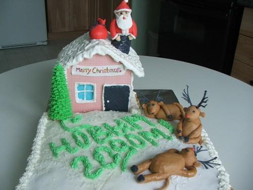 очень очень очень симпатичные и новогодние торты