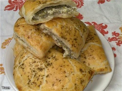 Булочки с тунцом,сыром и помидорами Пирог с сыром и сырокопченной колбасой Сырные кексики с кукуруз... - 7