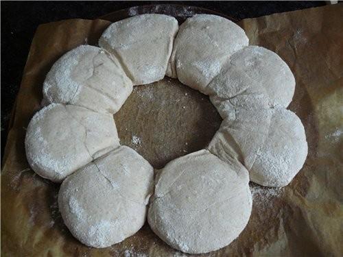 Хлебная корона из теста для Norwich Sourdoug 450 г хлебной муки, тип 550 60 г ржан - 9