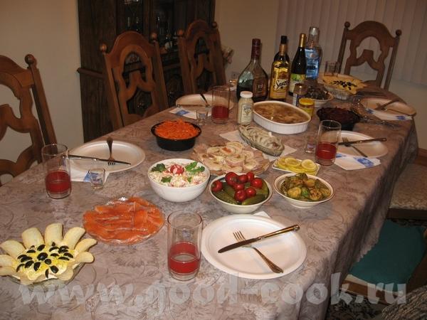 Вот и мы отпраздновали День рождения сынули посидели с семьёй и друзьями за вот таким столом А было...